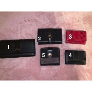 COACH wallet bundle *9$ each!*